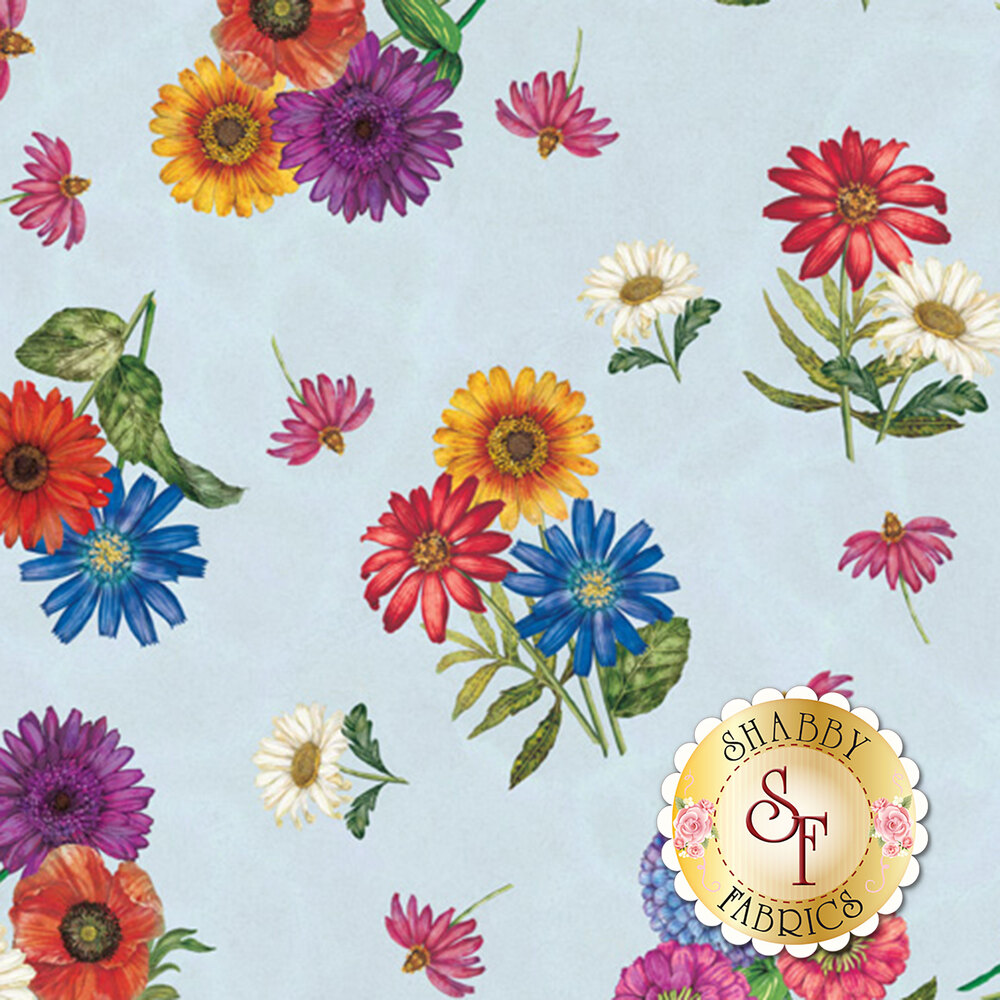 Blossom & Bloom 74203-437 by Wilmington Prints