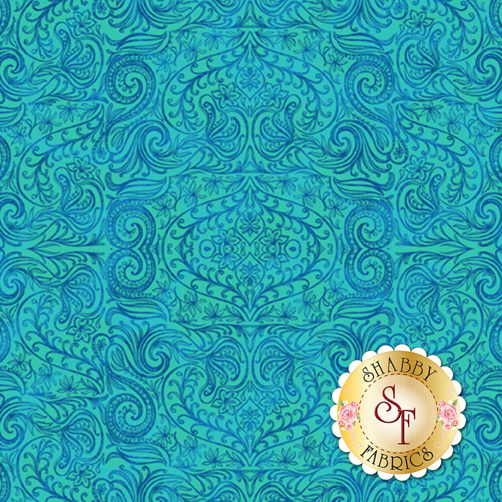 Blossom & Bloom 74205-444 by Wilmington Prints
