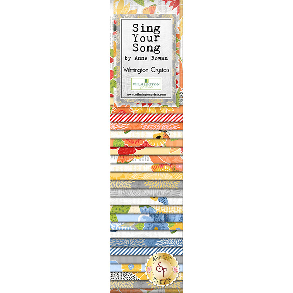 Sing Your Song  Precut Strips from Wilmington Prints by Anne Rowan