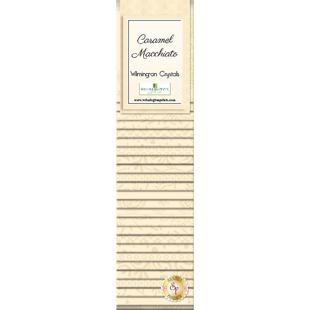 Caramel Machiatto  12pc Fat Quarter Set by Wilmington Prints available at Shabby Fabrics