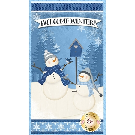 Welcome Winter! 82541-414 Panel by Wilmington Prints