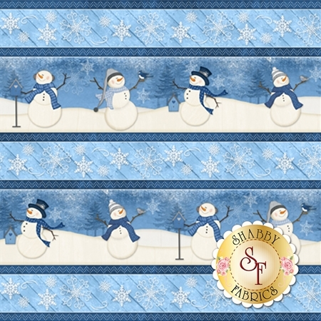 Welcome Winter! 82543-411 by Wilmington Prints