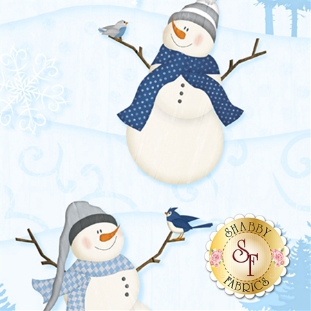 Welcome Winter! 82544-414 by Wilmington Prints