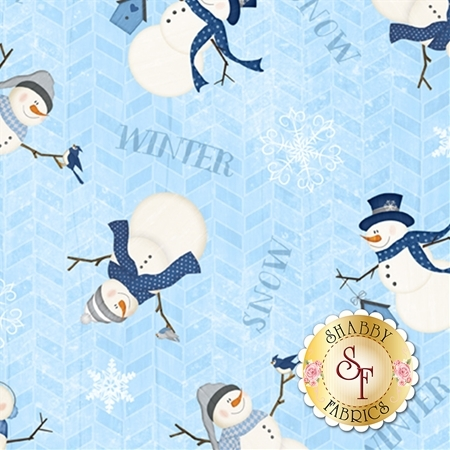 Welcome Winter 82545-441 by Wilmington Prints