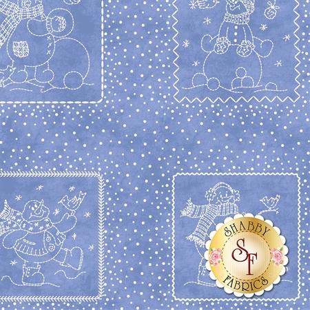 Roly-Poly Snowmen 8411-B by Maywood Studio Fabrics