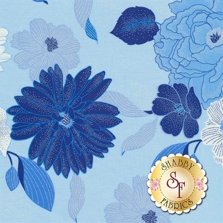 Blue Brilliance 8805P-50 by Benartex Fabrics