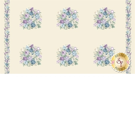 Twilight Garden 8872-44 Panel by Henry Glass Fabrics