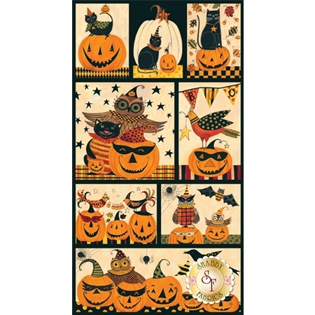 Too Cute To Spook 9109P-41 Panel by Blank Quilting