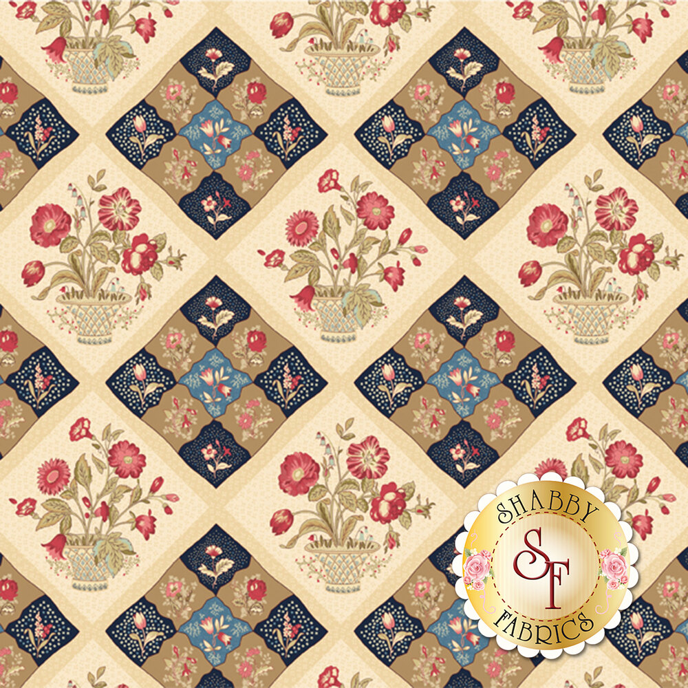 Bricolage 98641-143 Diamond Sampler Multi by Wilmington Prints
