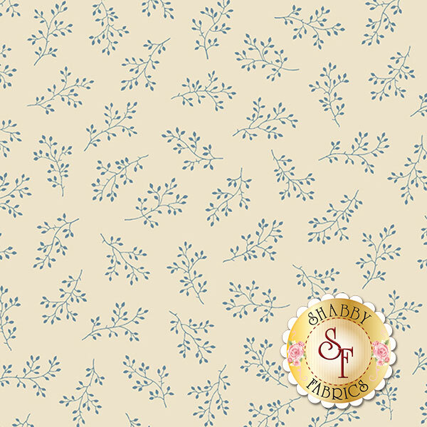 Blue Sky A-8511-L by Edyta Sitar for Andover Fabrics- REM #5