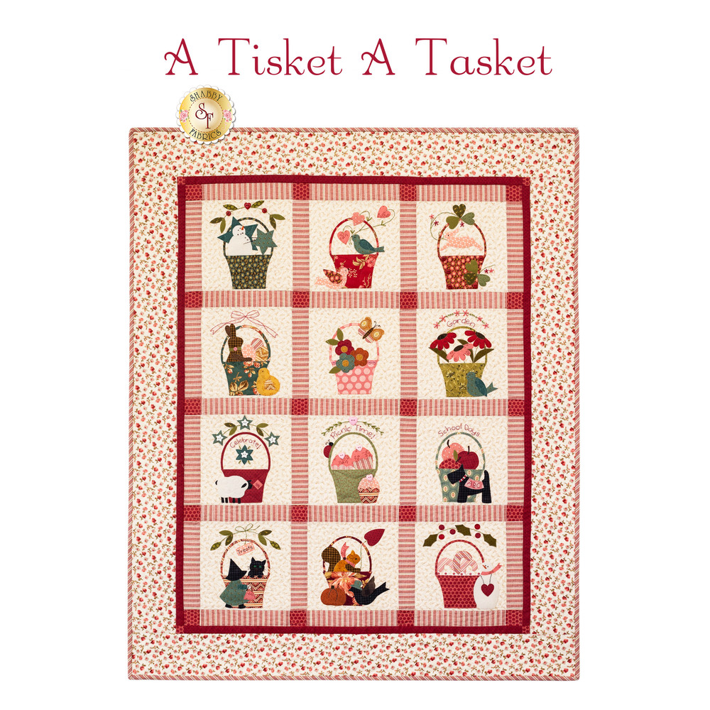 A Tisket A Tasket - Traditional Quilt Kit