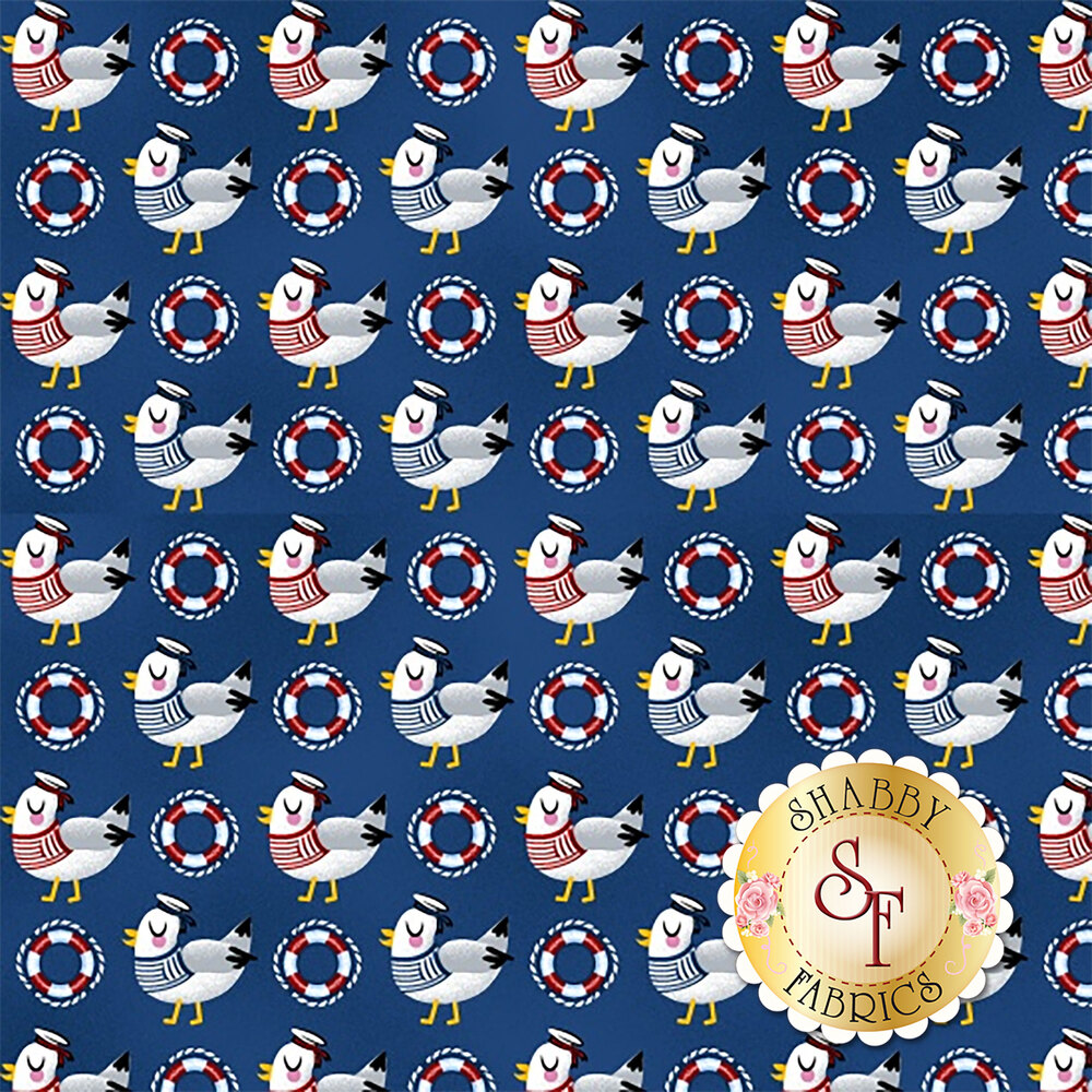 A Whale of a Time 4408-71 from Studio E Fabrics