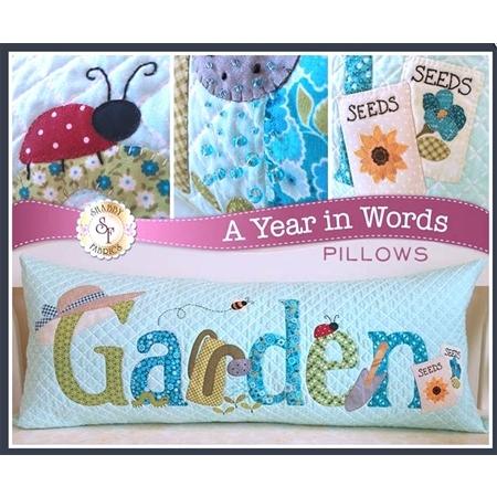 A Year In Words Pillow Kit - Garden (June) - Laser Cut
