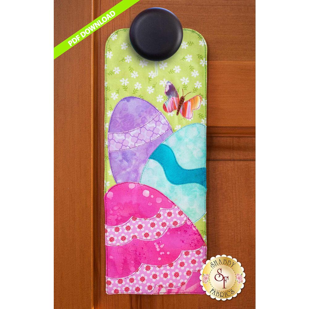A-door-naments - Easter Eggs -  April - PDF Download at Shabby Fabrics