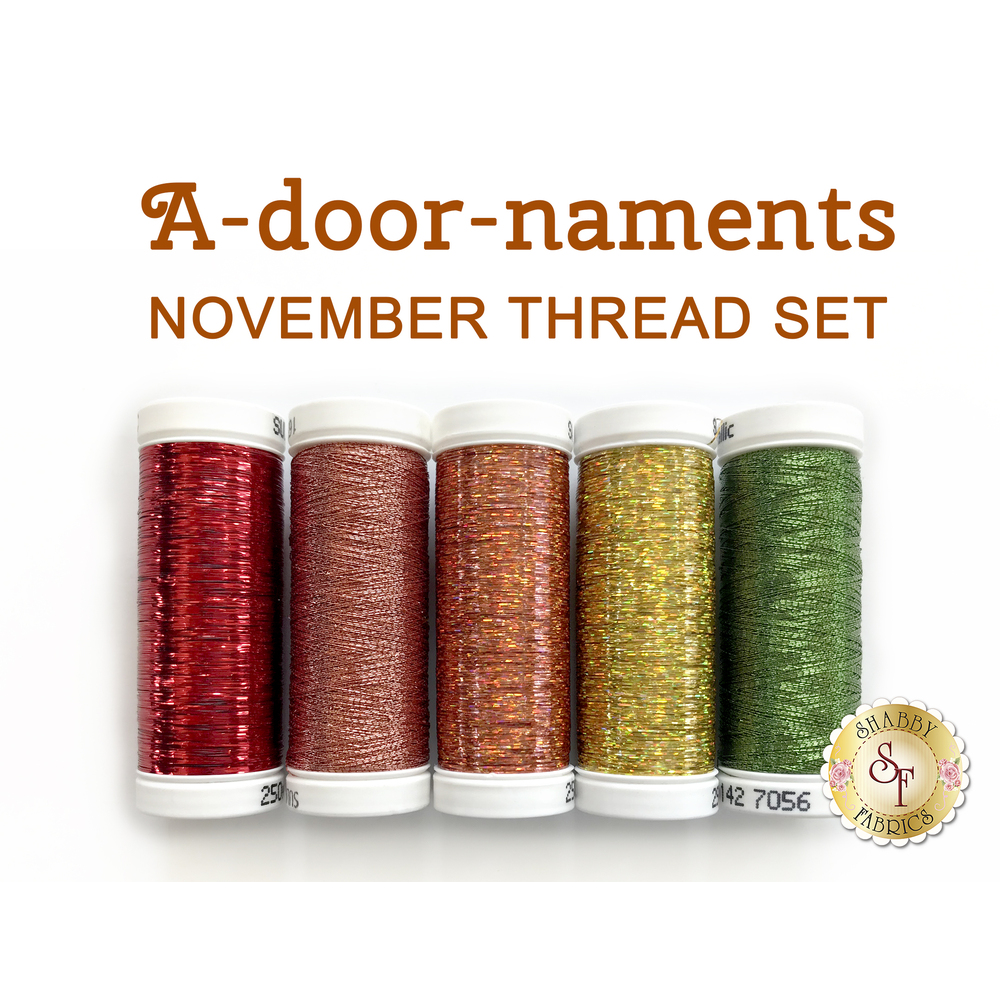 A-door-naments Pumpkins (October) Thread Set - 6 pc from Sulky