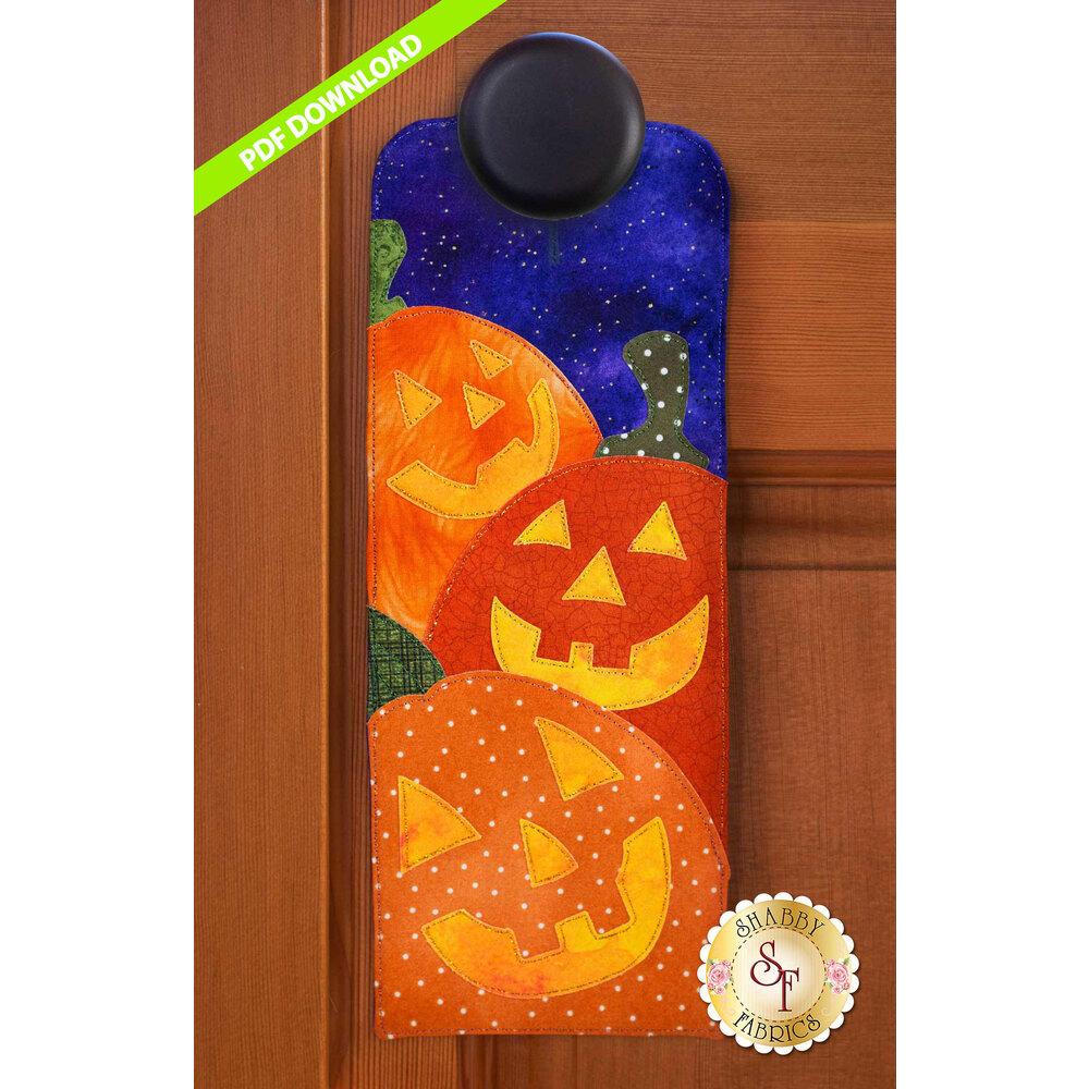 A-door-naments - Jack O' Lanterns -  October  - PDF Download at Shabby Fabrics