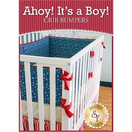 Ahoy! It's A Boy! Crib Bumpers Kit