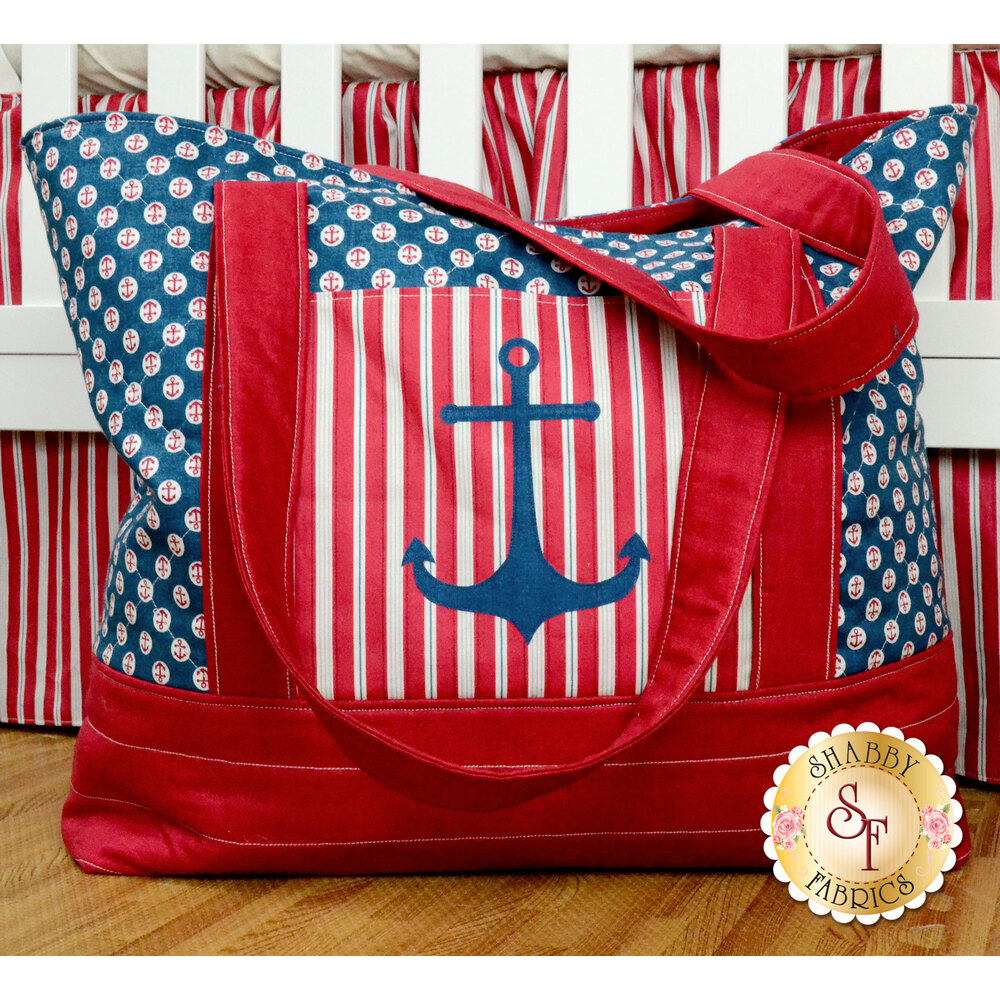 Ahoy! It's A Boy! Diaper Bag Pattern