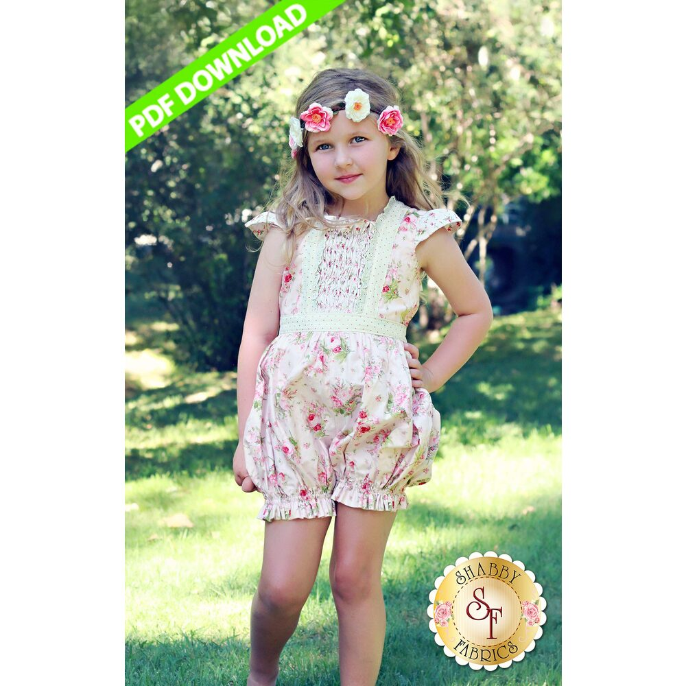 Alice Dress & Romper - PDF DOWNLOAD