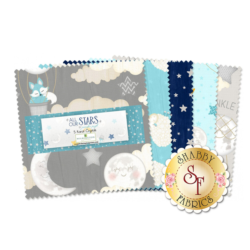"All Our Stars 5"" Squares 