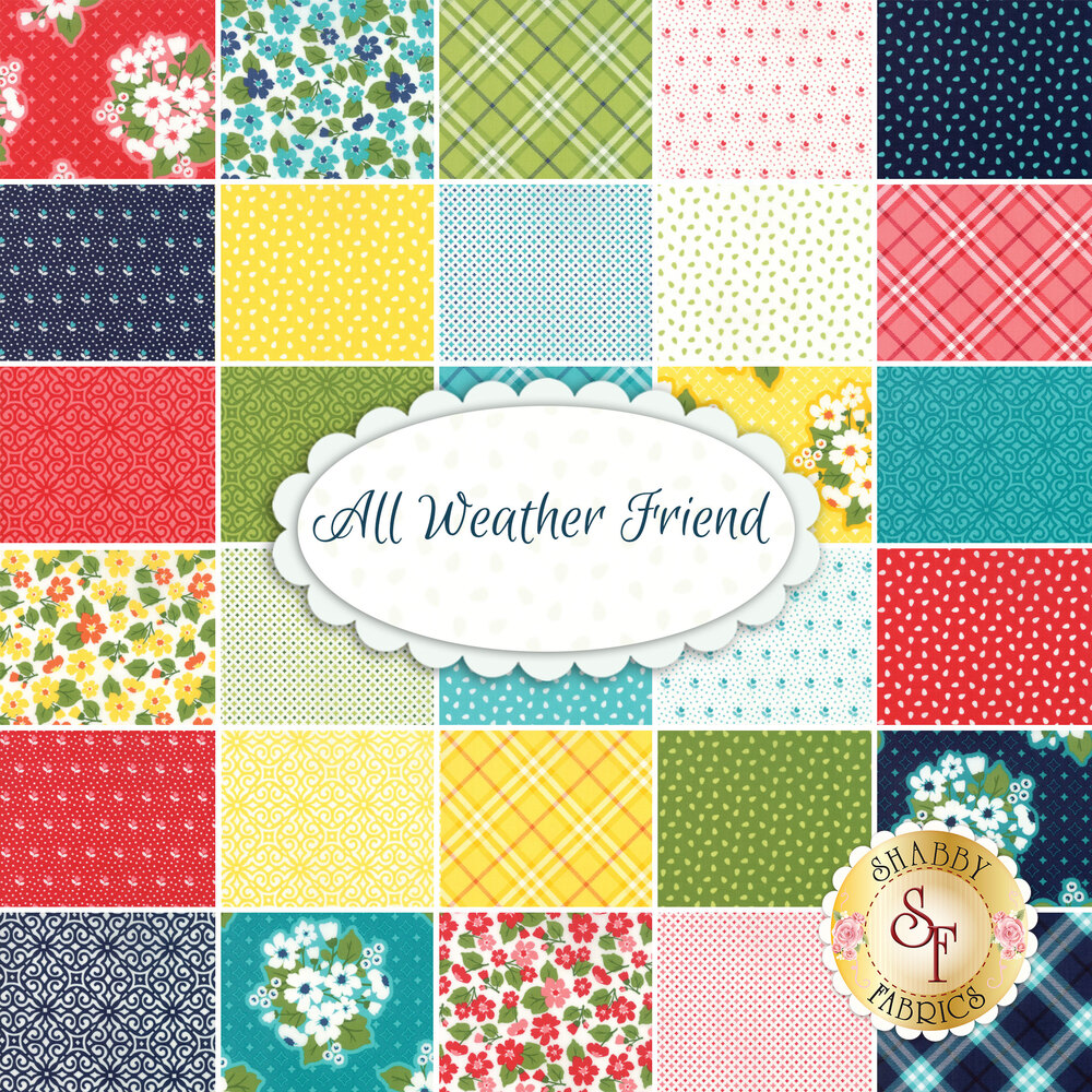 All Weather Friend by April Rosenthal for Moda Fabrics