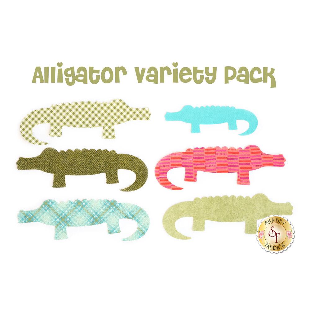 Laser-Cut Alligator Set - Variety Pack