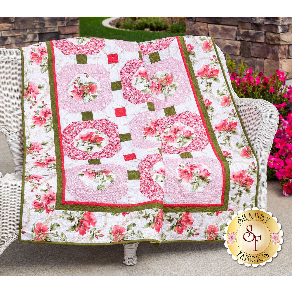 Amelie Quilt Kit - Rose