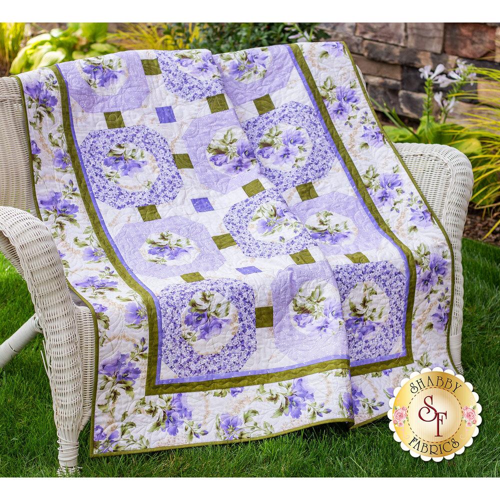 Amelie Quilt Kit - Lavender | Shabby Fabrics