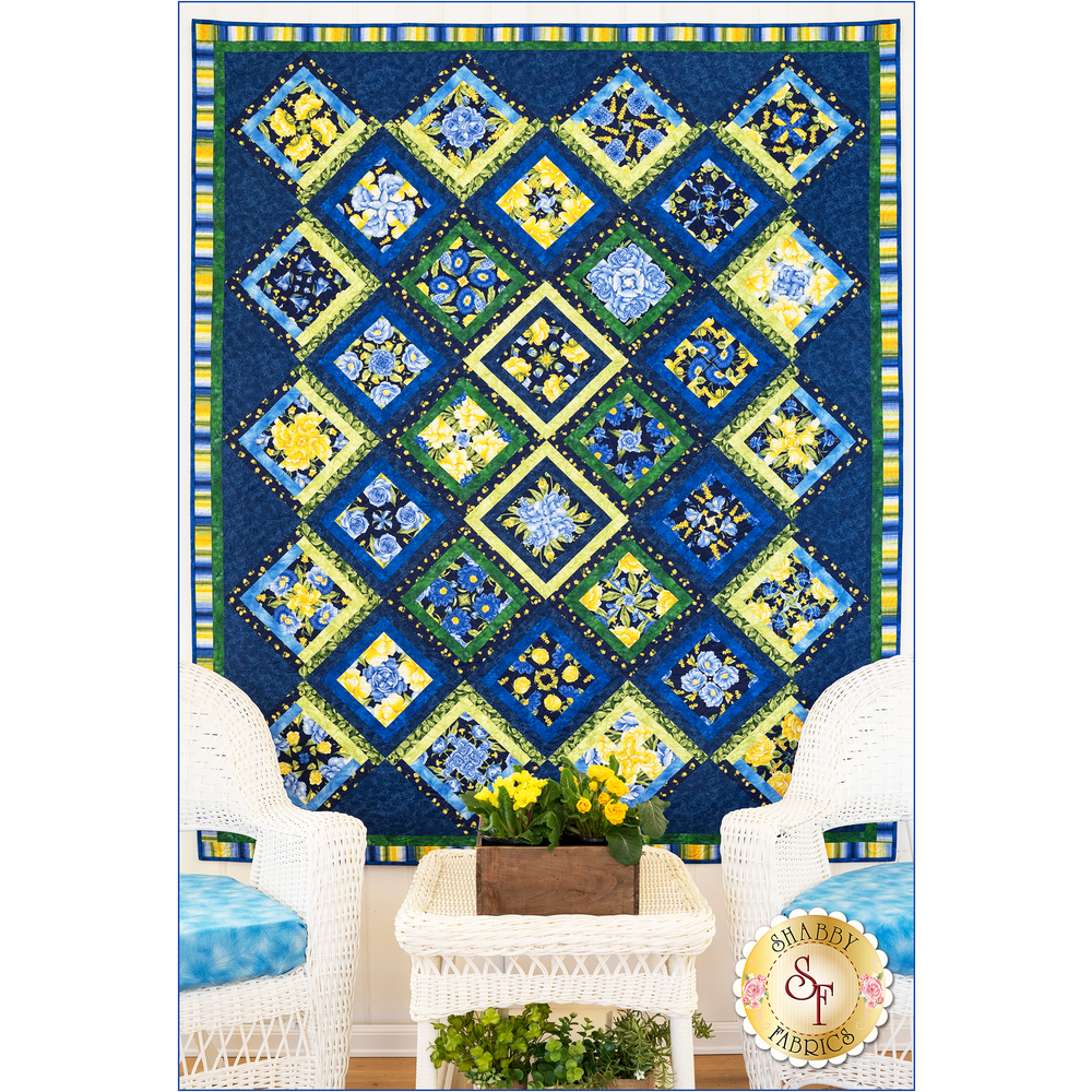 Angelica 4-Patch Party Quilt Kit