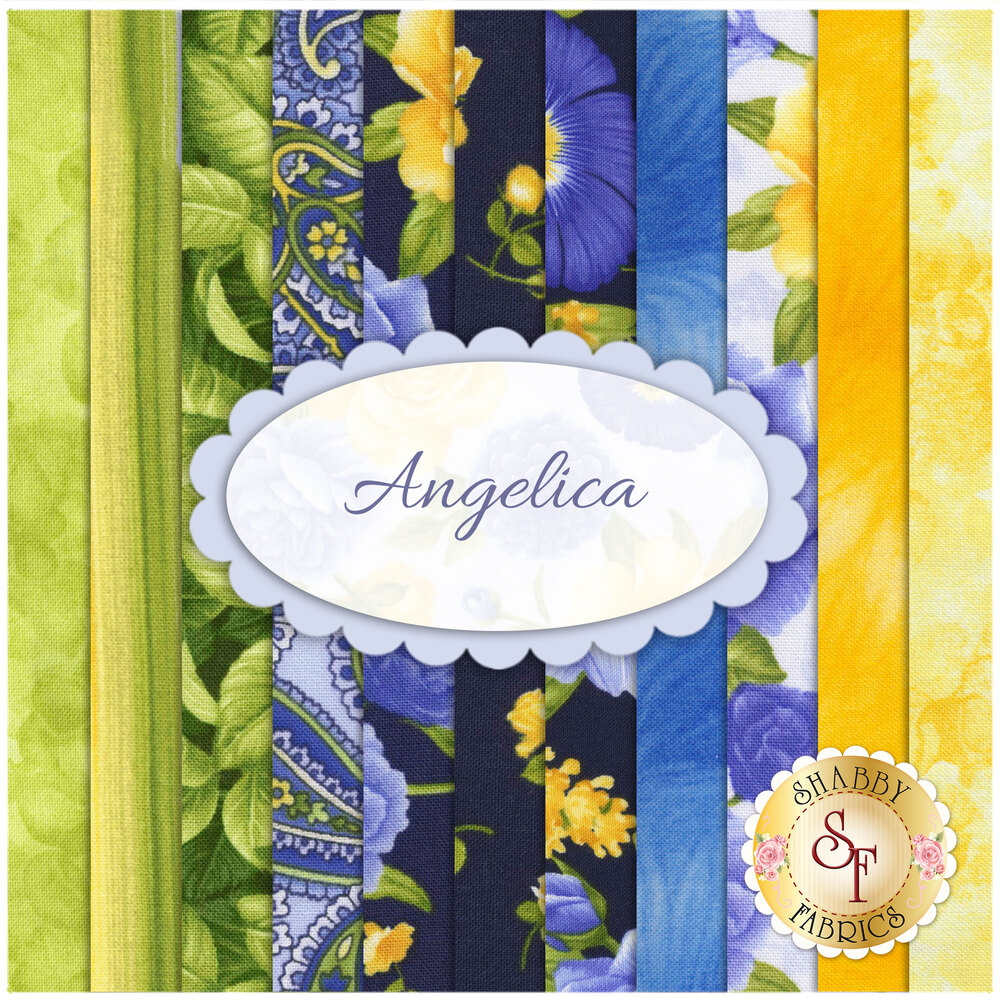 Angelica  11 FQ Set by Timeless Treasures Fabrics