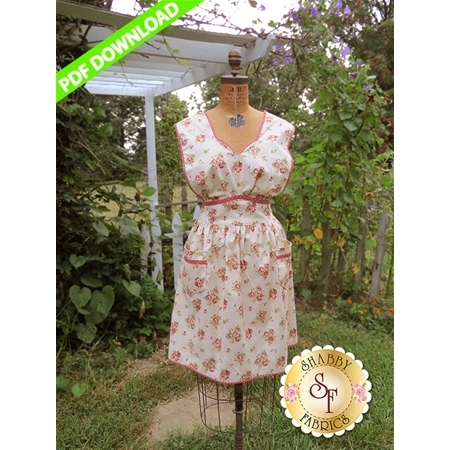 Anna Vintage Apron - PDF DOWNLOAD