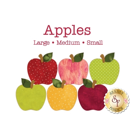Laser-Cut Apples - 3 Sizes Available