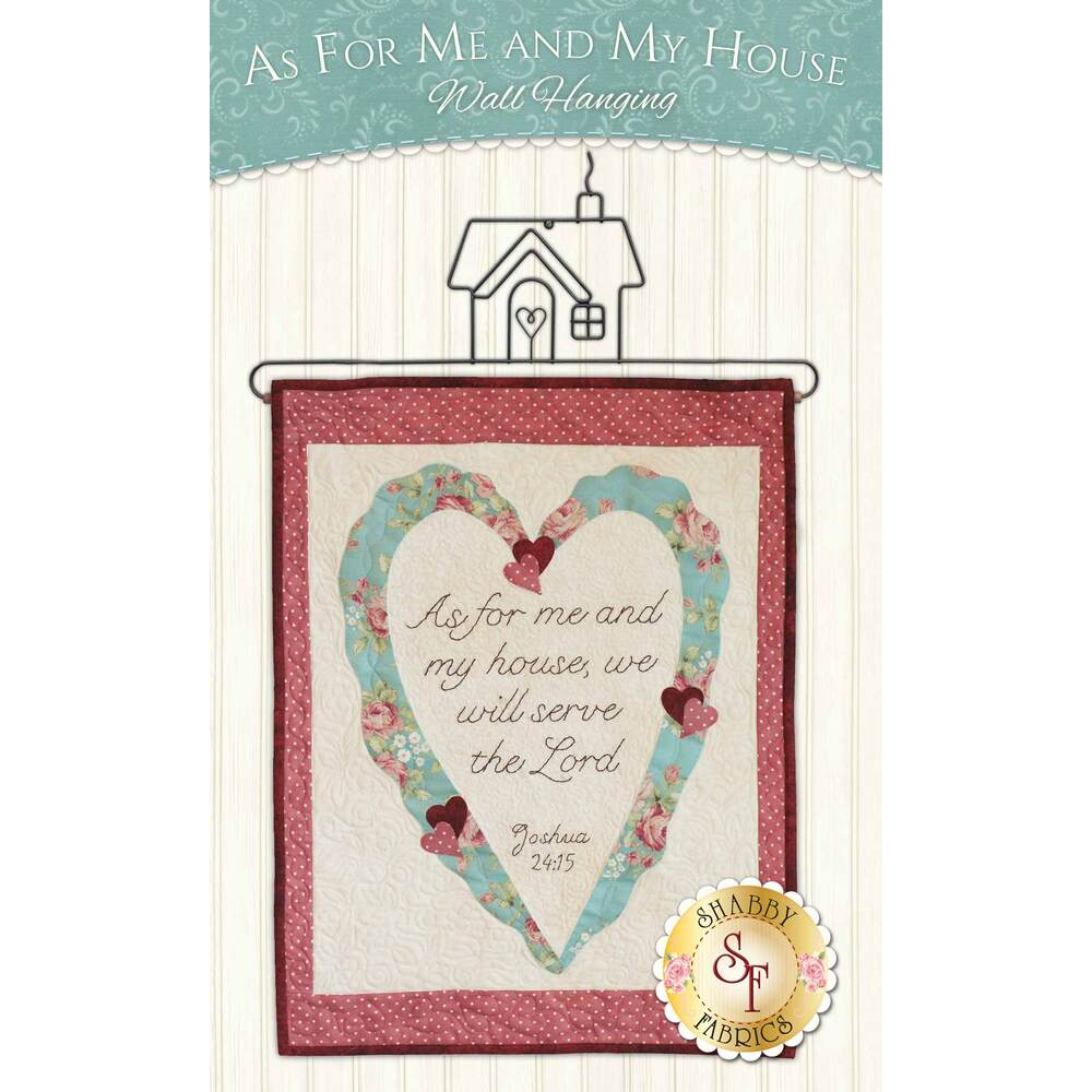 As For Me And My House Wall Hanging Kit