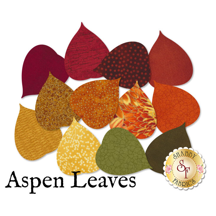 Laser-Cut Aspen Leaves - 4 Sizes Available!