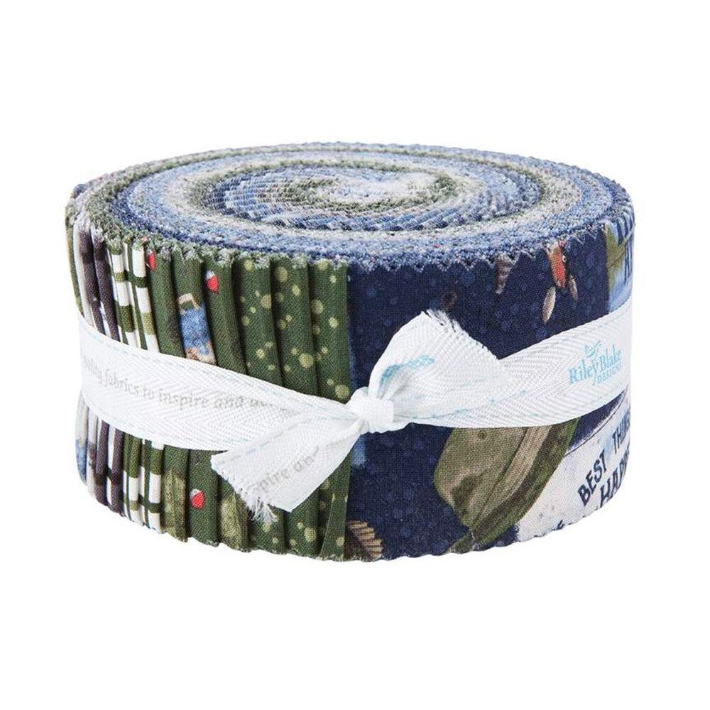 "At The Lake  2 1/2"" Strips by Tara Reed for Riley Blake Designs   Shabby Fabrics"