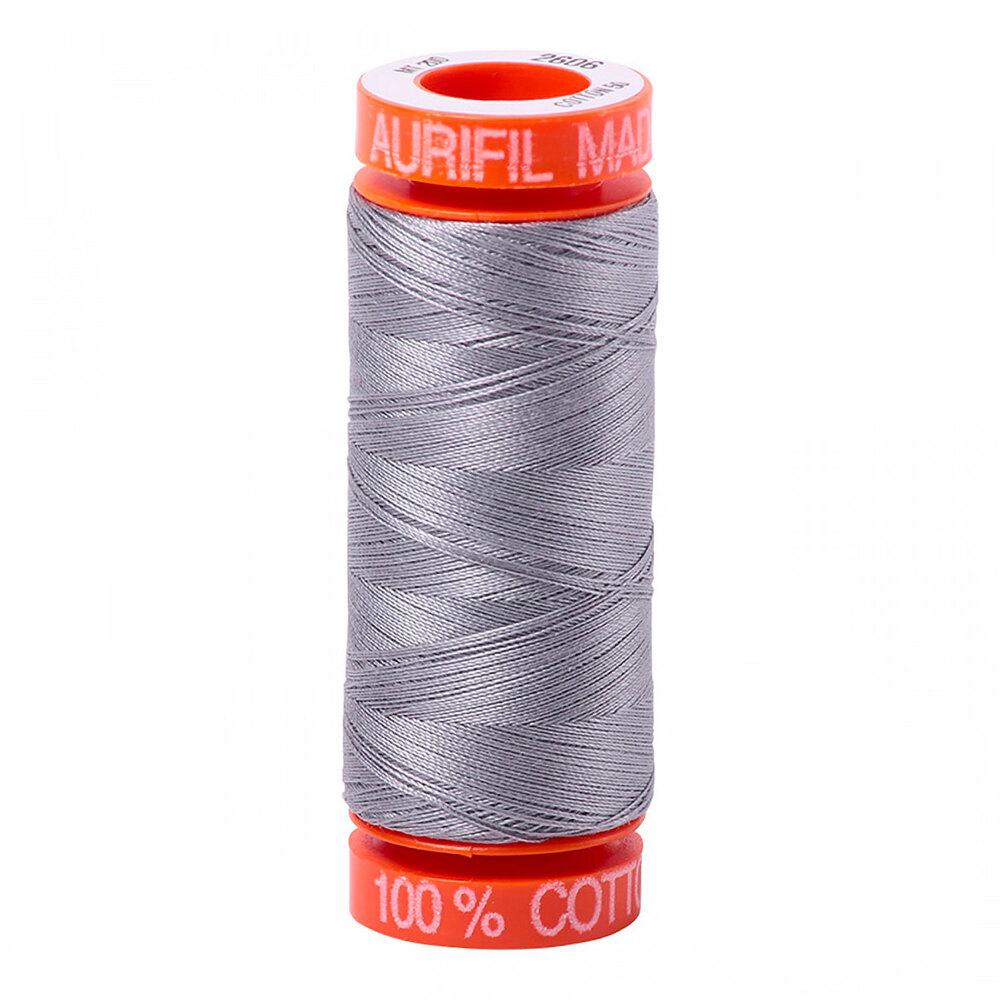 Aurifil Cotton Thread #2606 - Mist - 220yds | Shabby Fabrics