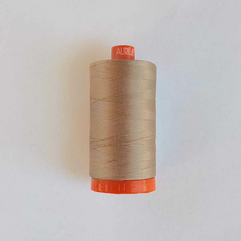 Mako Cotton Thread - Stone - 1422yds | Shabby Fabrics