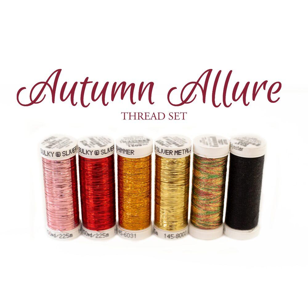 Autumn Allure - 6pc Thread Set