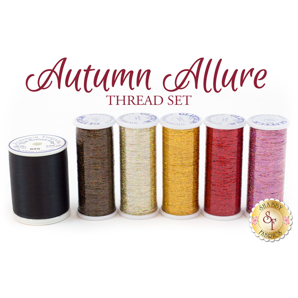 Autumn Allure - 6pc Thread Set
