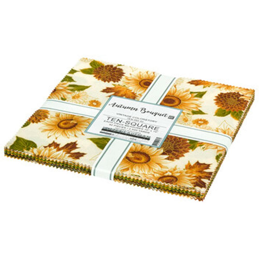 """Autumn Bouquet - Vintage Colorway 10"""" squares"""