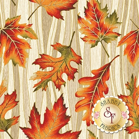 Autumn Leaves 5434M-70 by Benartex Fabrics