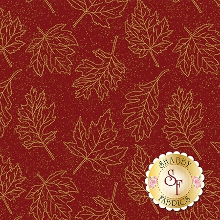 Autumn Leaves 5435M-19 by Benartex Fabrics