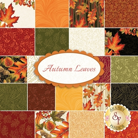 Autumn Leaves  Yardage by Benartex Fabrics