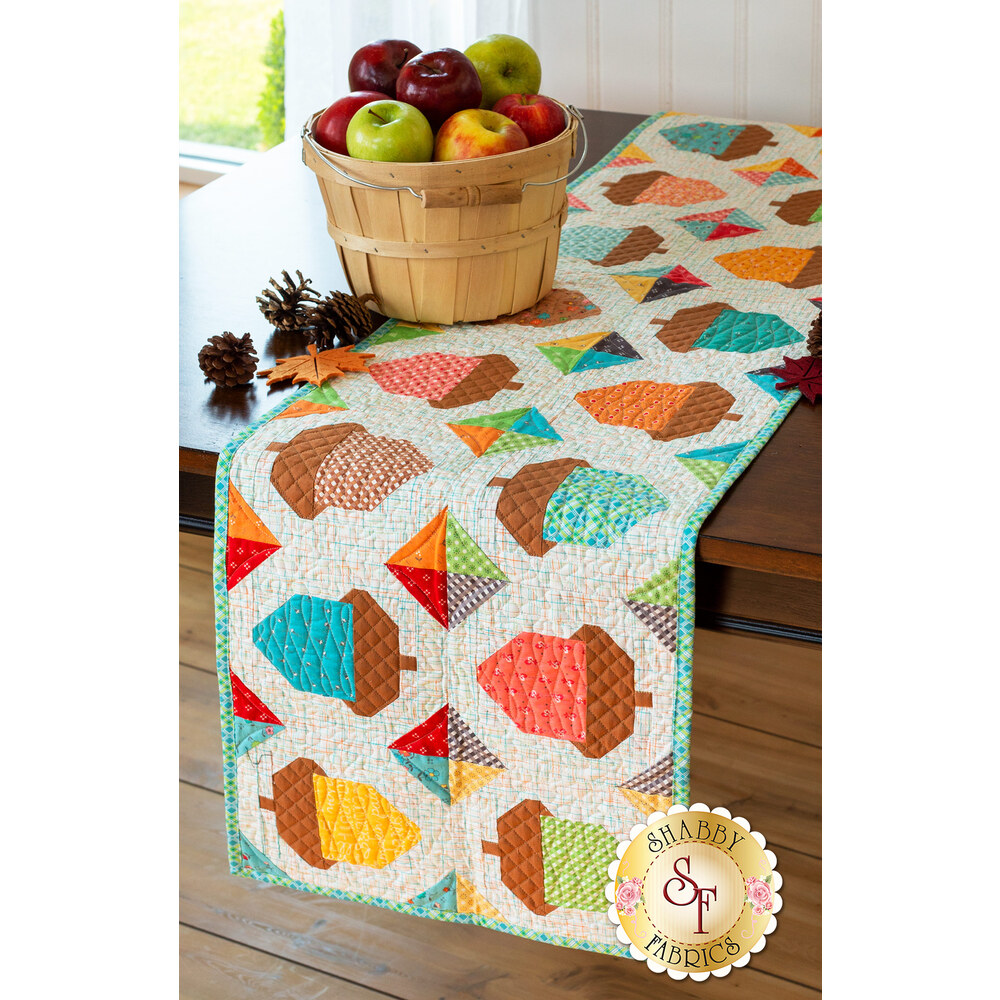 Acorn Table Runner Kit by Riley Blake Designs