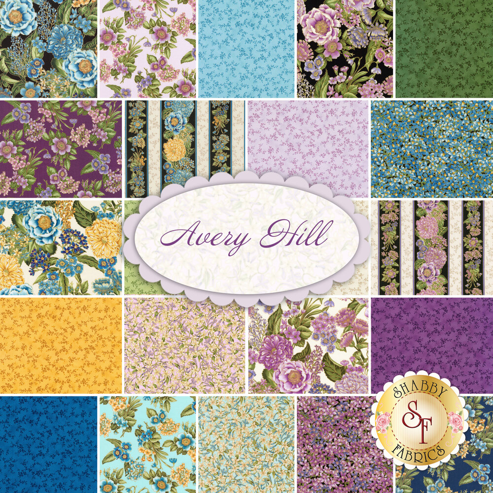 Avery Hill  Yardage by Robert Kaufman Fabrics