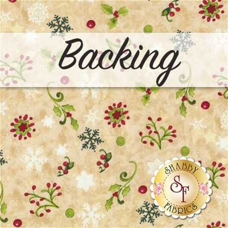 Believe In The Season Quilt Backing - 3½ yards