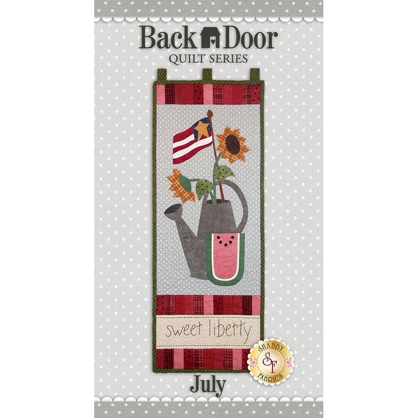 Back Door Wall Hanging Kit (Pre-fused & Laser Cut) - Sweet Liberty