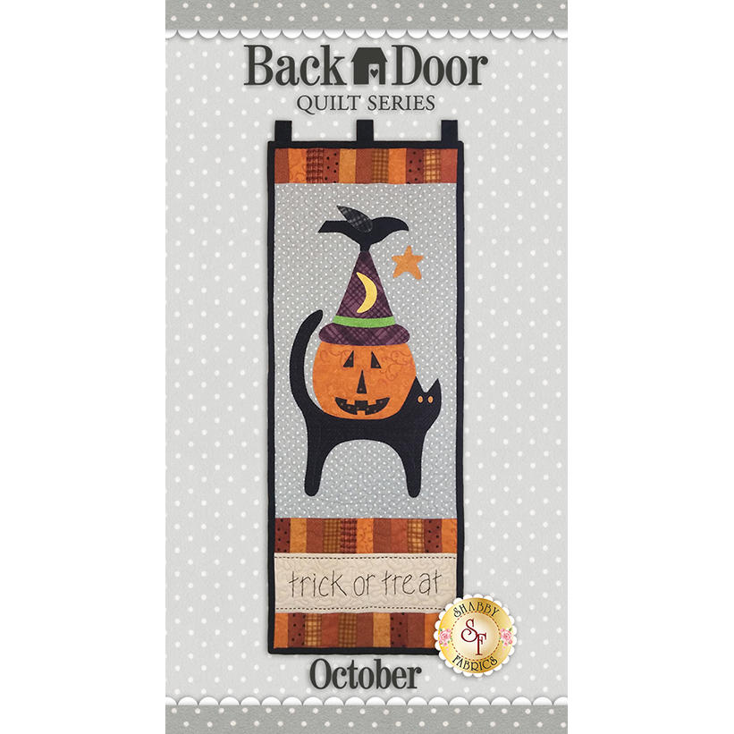 Back Door Wall Hanging - Trick Or Treat - Laser-Cut Kit