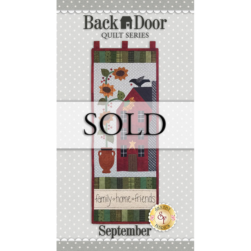 Back Door Quilt Series - Family Friends Home - SAMPLE Wall Hanging
