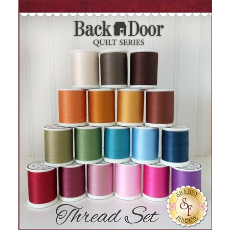 Back Door Quilt Series Club - 18pc MasterPiece Thread Set